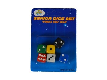 Náhradní hrací kostky 6ks