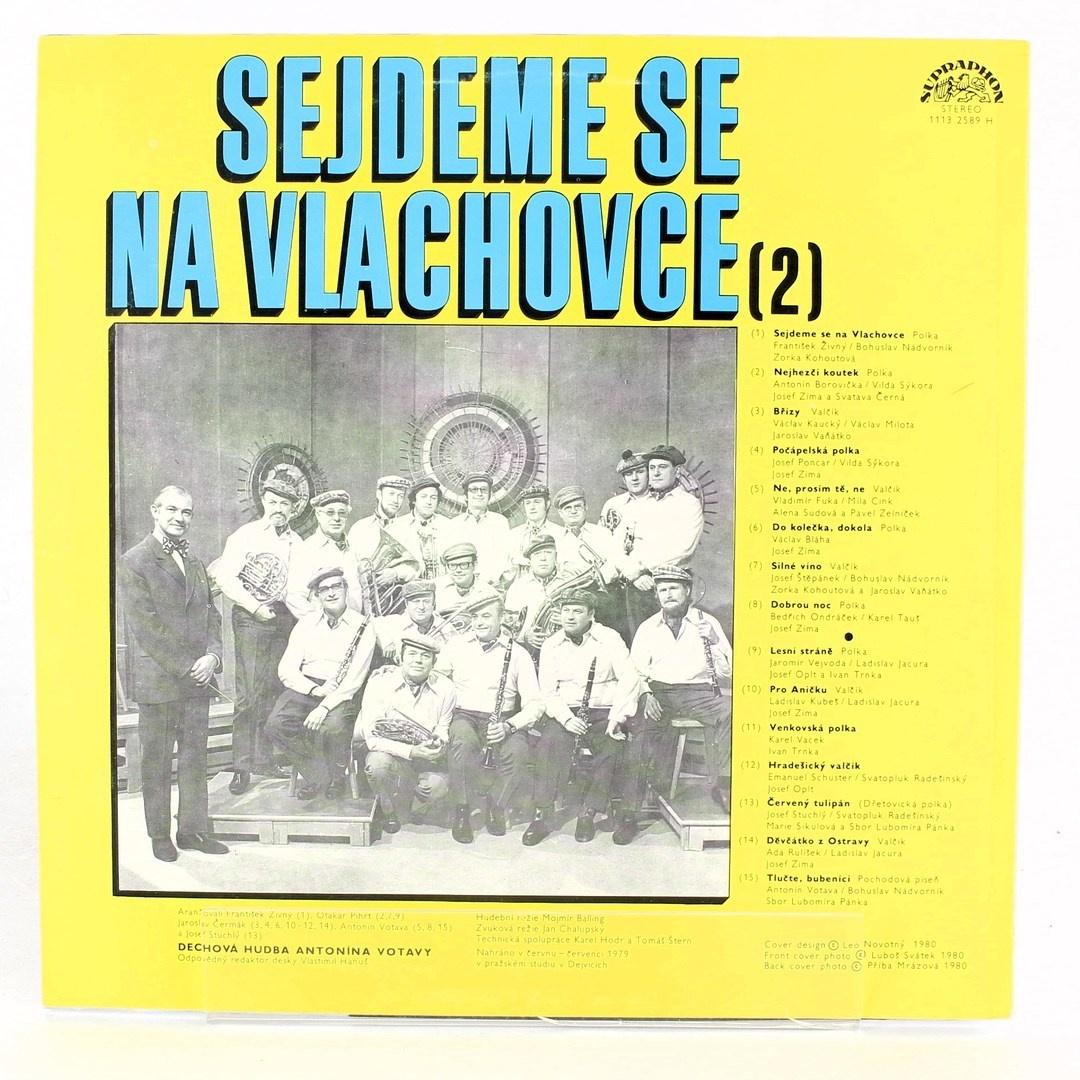 Gramofonová deska Sejdeme se na Vlachovce 2