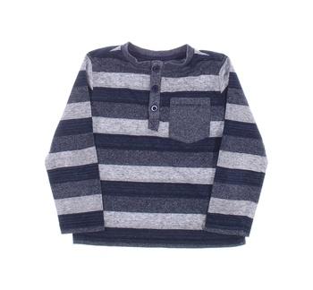 Dětské pruhované tričko F&F s kapsou