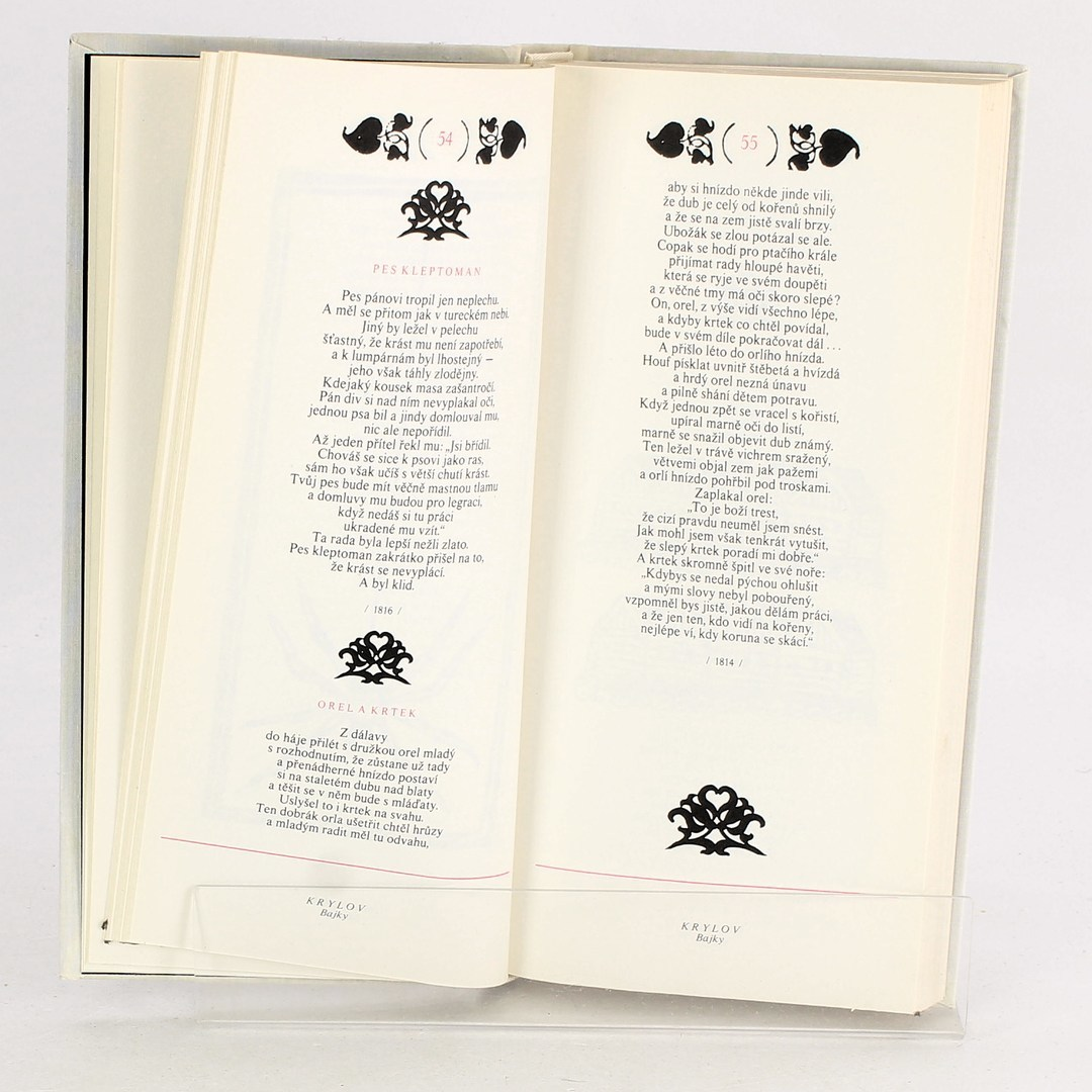 Kniha I. A. Krylov: Člověk a stín