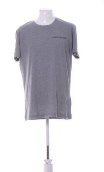 Pánské tričko Calvin Klein tmavě šedé