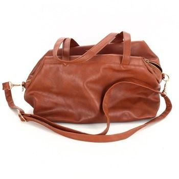Dámská kabelka F&F odstín hnědé