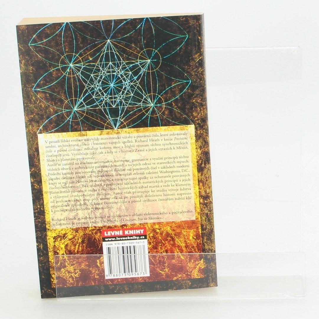 Kniha Posvátné číslo a původ civilizace - R. Heath