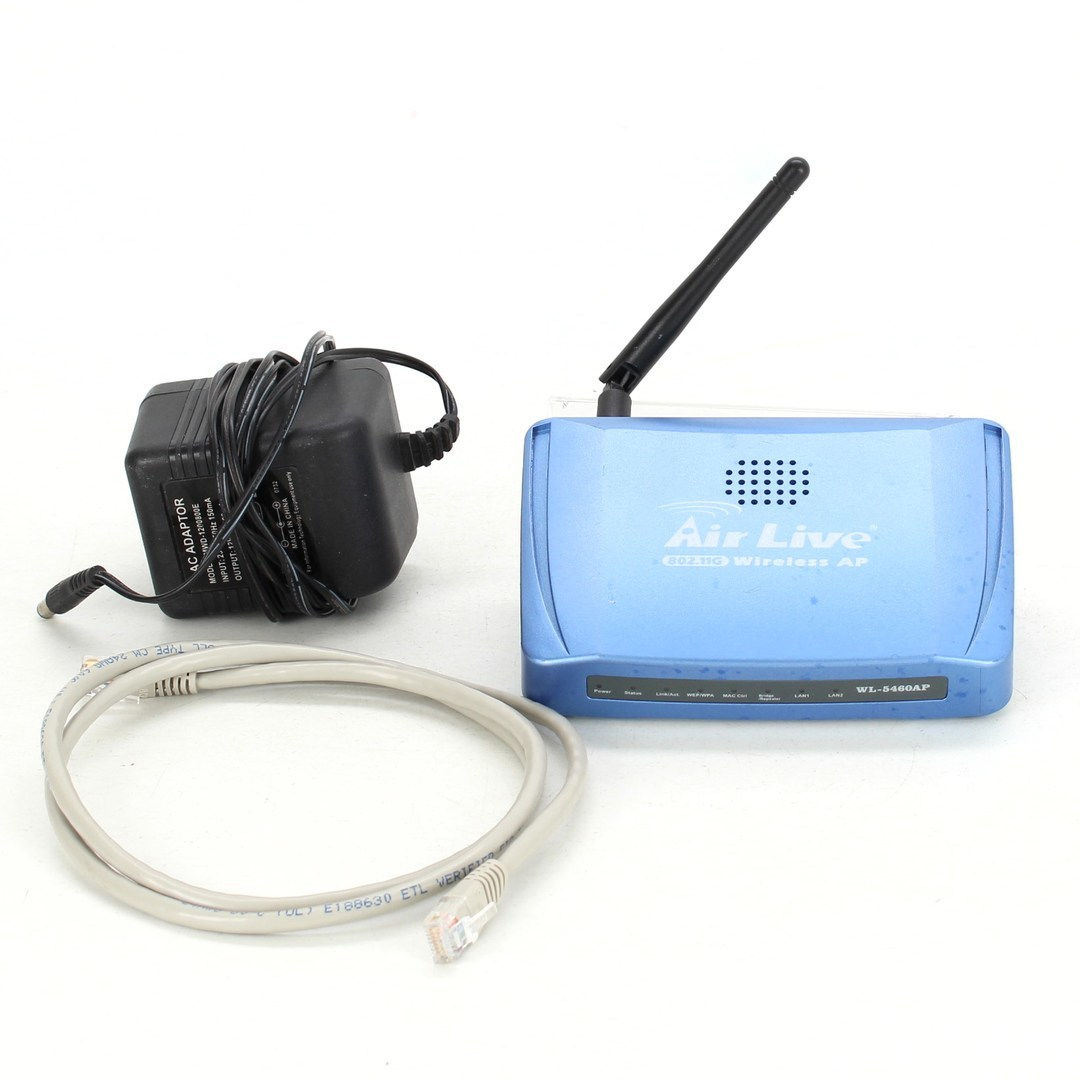 Access point AirLive WL-5460APv2 modrý