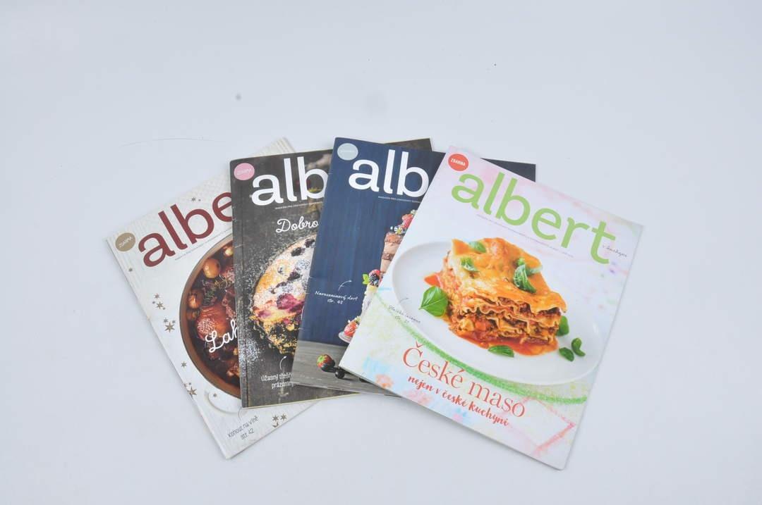 Set časopisů Albert