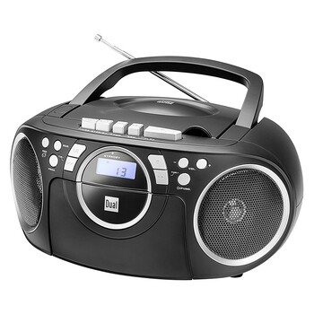 Rádio-CD magnetofon DUAL P70 černý