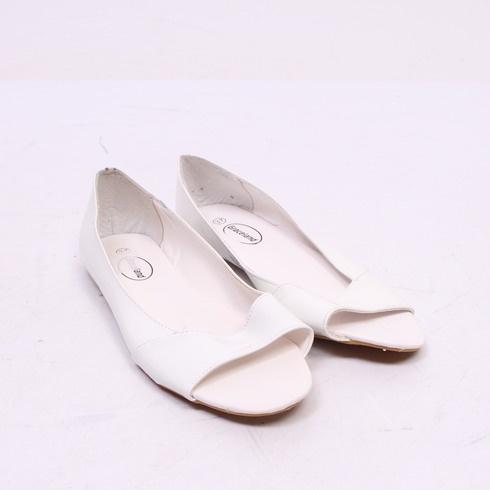 Dámské baleríny Graceland, bílé