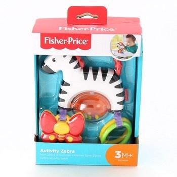 Chrastítko Fisher-Price Activity Zebra